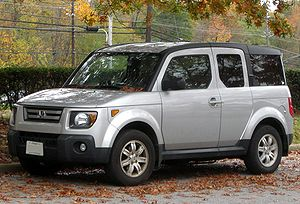 2007-2008 Honda Element photographed in Greenb...