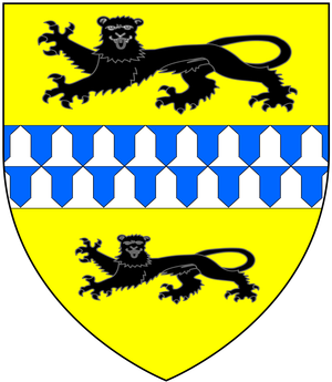 John Hooker (English constitutionalist) - Image: Hooker Alias Vowell Arms