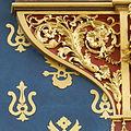 Horloge de Charles V - Fines ornementations à la base de l'horloge.jpg