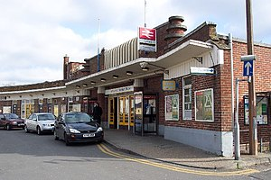 Horsham railway station - Image: Horsham Railway Station