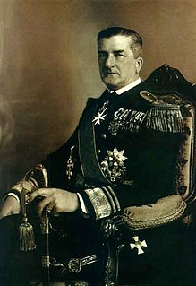 Miklós Horthy Hungarian Admiral and Regent 1920-1944