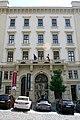 Hotel Comsa Šilingrovo náměstí Brno - vstupní průčelí.jpg