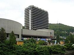 Hotel thermal architekt