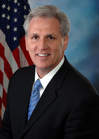 Current members of the United States House of Representatives - Image: House Maj. Leader Kevin Mc Carthy official photo