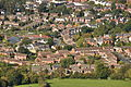 Houses in Leckhampton from Leckhampton Hill (6974).jpg