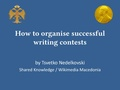 How to organise successful writing contests.pdf