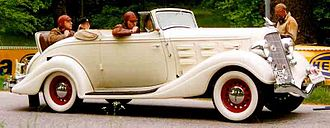Hudson Motor Car Company - 1934 Hudson Eight Convertible Coupé