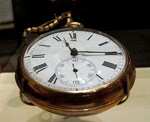Hugh Lawson White - White's pocket watch on display at the Center for East Tennessee History