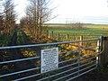 Hulton estate private land next to M6 motorway - geograph.org.uk - 98746.jpg