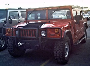 Hummer H1 - A Hummer H1 Alpha convertible