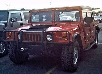 Hummer H1 - A Hummer H1 convertible
