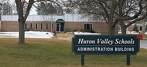 Highland Township, Oakland County, Michigan - Huron Valley Schools Administration Building