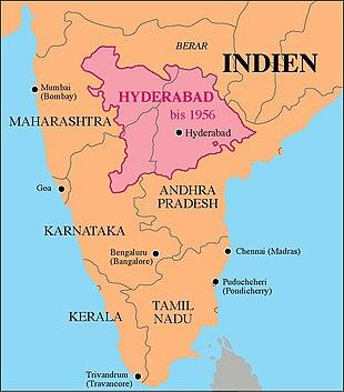 Hyderabad bis 1956