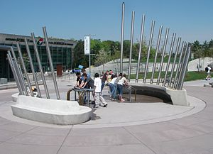Ontario Science Centre - World's largest outdoor hydraulophone which is publicly accessible 24 hours-a-day