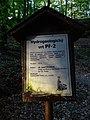 Hydrogeologický vrt Př-2 u Studeného průchodu, infotabule.jpg