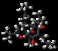 Hyperforin molecule ball.png