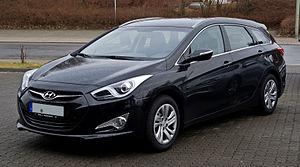 Hyundai i40 - Image: Hyundai i 40cw 1.7 CR Di Style – Frontansicht, 26. Februar 2012, Heiligenhaus