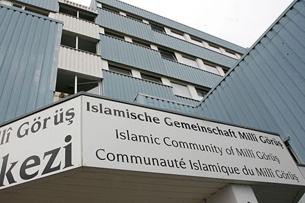 Head office of the Islamic Community Milli Gorus in Koln, Germany. IGMG Head Office.jpg