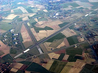Chièvres Air Base - Aerial view of Chièvres Air Base