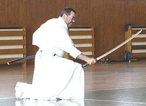 Iaidō - Iaido in the Czech Republic as demonstrated by Victor Cook Sensei