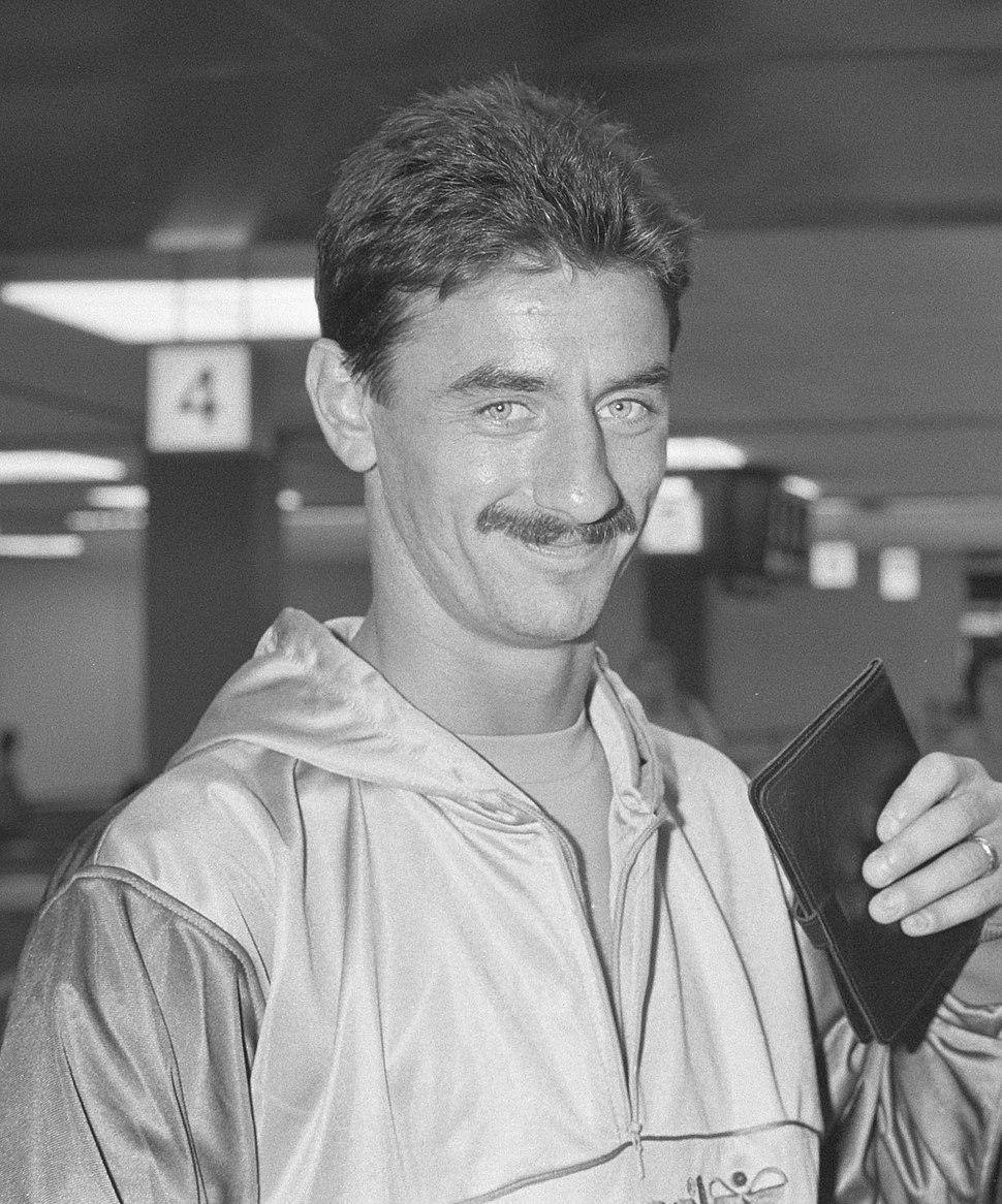 Ian Rush, Wales Team, 1988 (1)
