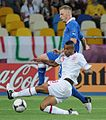 Ignazio Abate and Ashley Cole England-Italy Euro 2012 2.JPG