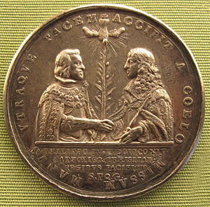 Treaty of the Pyrenees - Medal celebrating the Treaty (1660)