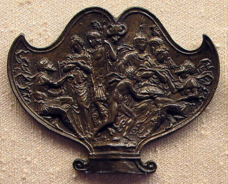 Plaquette - Moderno, The Continence of Scipio, c 1500–1510, 5.8 x 7.5 cm