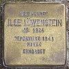 Stolperstein für Ilse Löwenstein