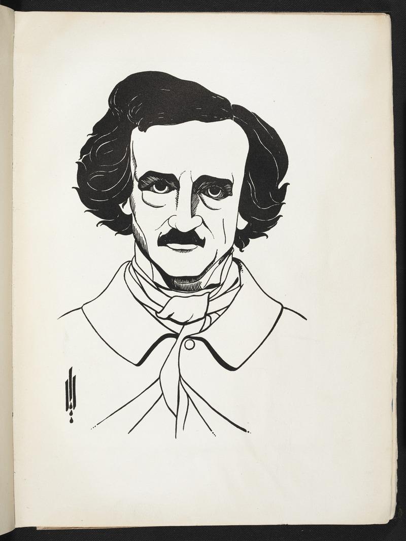 Изображение с иллюстраций к Эдгару Аллану По авторства Обри Бердсли (BL 7825.т. 19-56).тиф