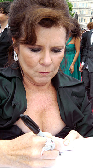 Imelda Staunton - Staunton at the world premiere of Harry Potter and the Deathly Hallows – Part 2 in London (2011)