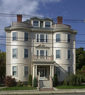 Immaculate Conception Rectory (Revere, Massachusetts) - Image: Immaculate Conception Rectory Revere MA 03