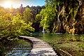 In Plitvice Lakes National Park. Croatia.jpg