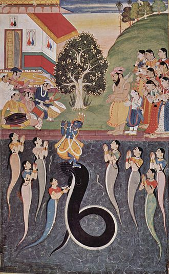 Snake charming - Image: Indischer Maler um 1640 001