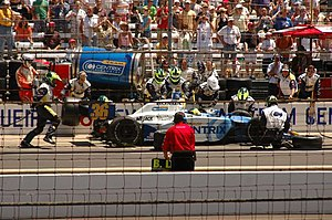 Bruno Junqueira - Junqueira at the 2005 Indy 500