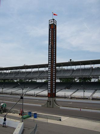 1994 Indianapolis 500 - The new Pylon