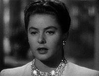 Ingrid Bergman dans Les Enchaînés