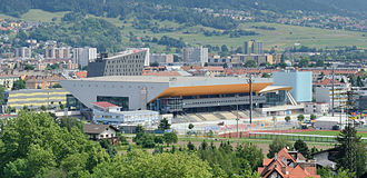 OlympiaWorld Innsbruck - Image: Innsbruck Olympische Halle