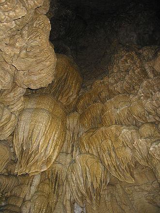 Cave Junction, Oregon - Inside the Oregon Caves.