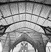 interieur, overzicht houtgewelf met spantconstructie - 20000749 - rce
