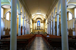 Our Lady of the Rosary Cathedral, Copiapó - Internal view