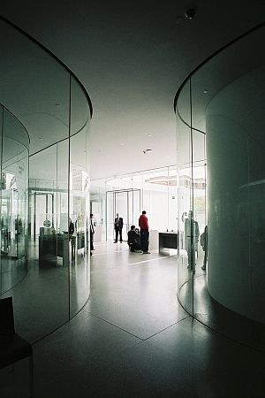 Toledo Museum of Art - Image: Interior del Glass Pavilion