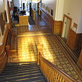 Interior of Allegany County Courthouse Stairway (25785929336).jpg