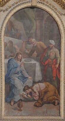 Maria Maddalena lava i piedi a Gesù