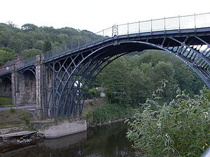 Truss arch bridge - Image: Iron Bridge