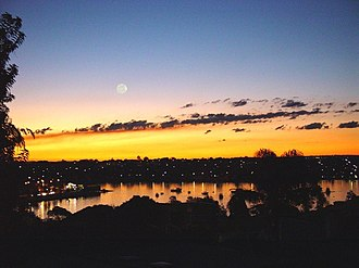 Iron Cove - Image: Iron Cove from Francis Street, Lilyfield