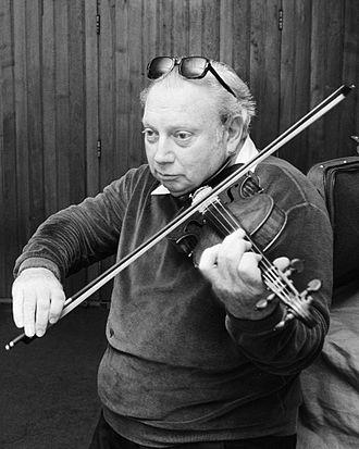 Isaac Stern - Isaac Stern in 1975