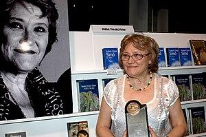 Isabel-Clara Simó - Isabel-Clara Simó at the Setmana del Llibre en Català, in Sant Cugat, 2009