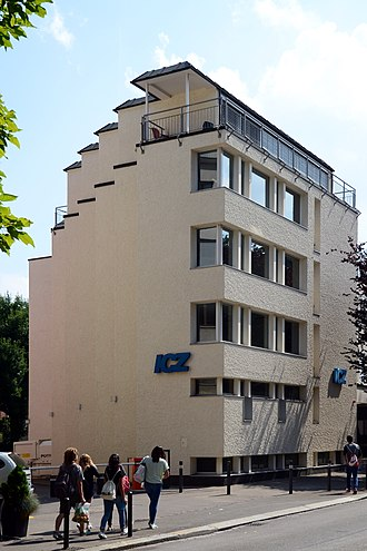 Friesenberg - ICZ building and library in Zürich-Enge