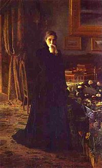 Inconsolable Grief, by Ivan Kramskoy